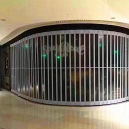商场折叠门