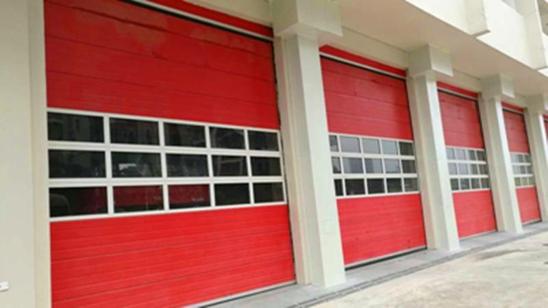 消防站工业提升门