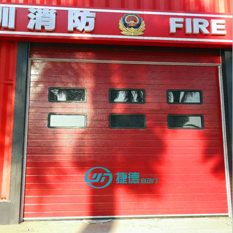消防联动提升门