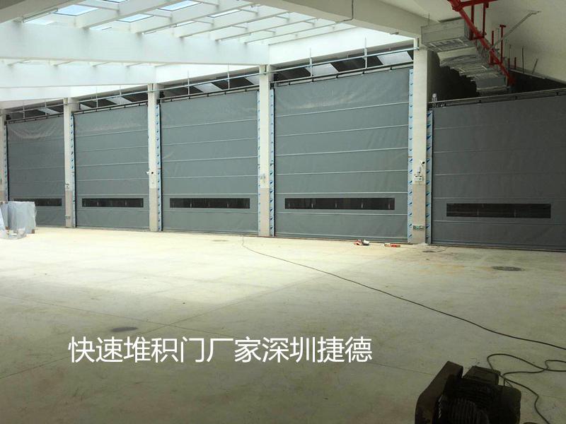 北京PVC快速堆积门