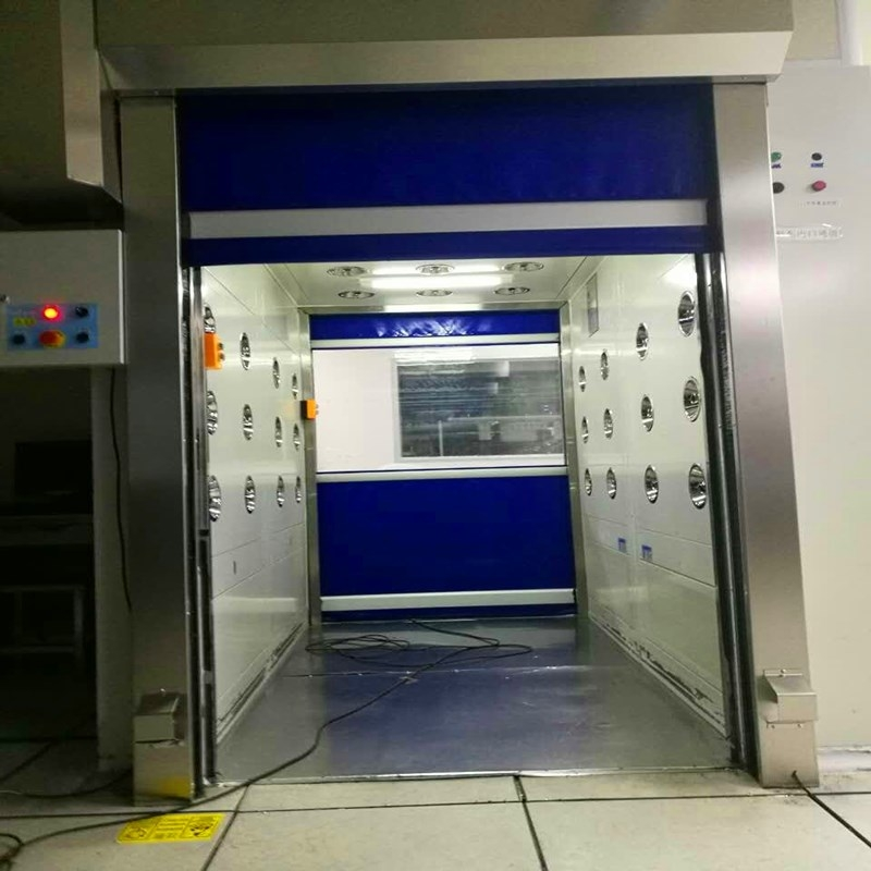 货淋室互锁高速门